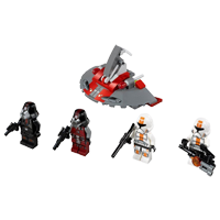 Republic Troopers vs Sith Troopers (75001)