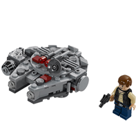 Microfighters - Millennium Falcon (75030)
