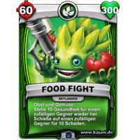 Food Fight (silver)
