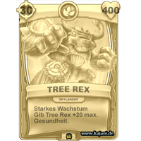 Tree Rex (gold)