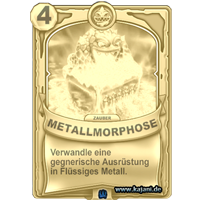 Metallmorphose (gold)