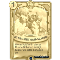 Nitromethan-Schub (gold)