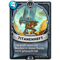Titanenheft (gold)