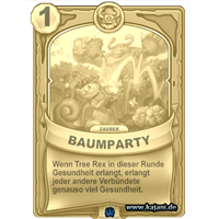 Baumparty (gold)