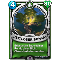 Zeitloser Bonsai (gold)