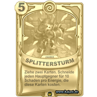 Splittersturm (gold)